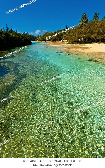 Near the Le Meridien Isle of Pines beach resort hotel, Oro Bay, Ile des Pins Isle of Pines, New Caledonia