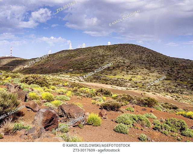 Teide Observatory, Teide National Park, Tenerife Island, Canary Islands, Spain
