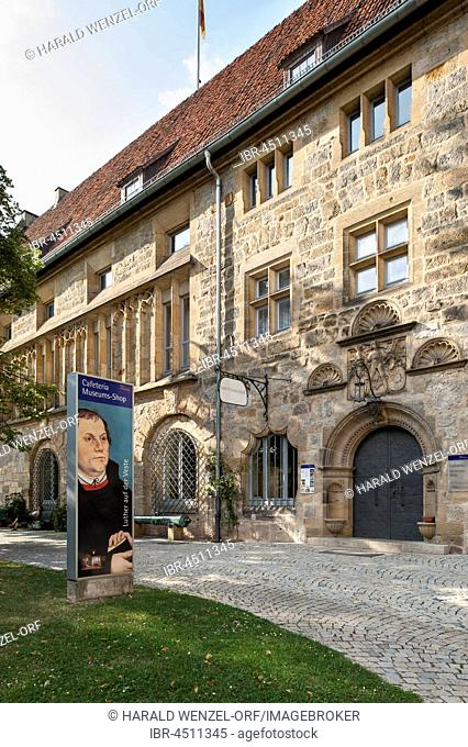 Art collections of Veste Coburg, Luther site, Coburg District, Bavaria, Germany