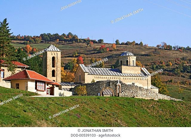 Serbia, Sopocani monastery