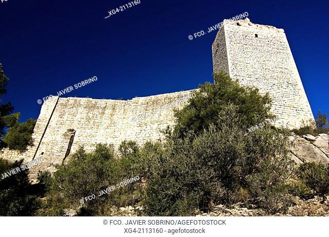 Pulpis Castle - Santa Magdalena de Pulpis - Castellon province - Comunidad Valenciana - Spain - Europe