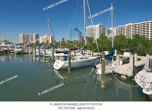 Waterfront of Sarasota, Florida