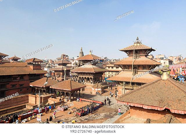 Northern part of Durbar square, Patan, Nepal