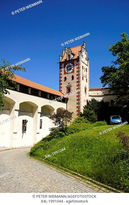 High Palace Hohes Schloss Fussen Bavaria Bayern Germany