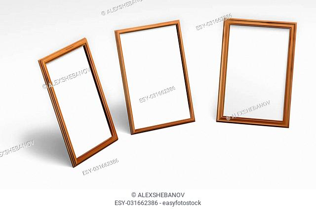 wooden frameworks baguet for photos