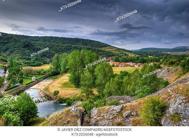 Ruesga. Fuentes Carrionas y Fuente Cobre - Montaña Palentina Natural Park. Palencia Province. Castilla y Leon. Spain