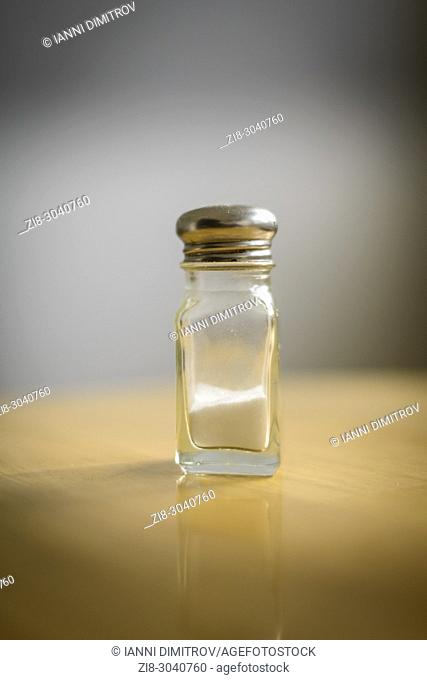 Table Salt- Sodium Chloride - Selective focus
