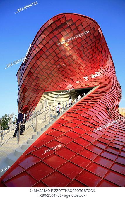 Vanke Pavilion at Milan Expo 2015, Italy