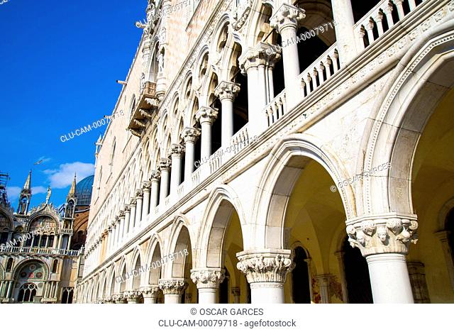 St Mark's Basilica, Venice, San Marcos Square, Italy, Western Europe