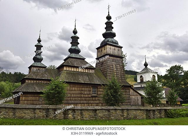 Greek Catholic Parish Church of the Protection of the Mother of God in Owczary, Commune of Sekowa, County of Gorlice, Malopolska Province (Lesser Poland)