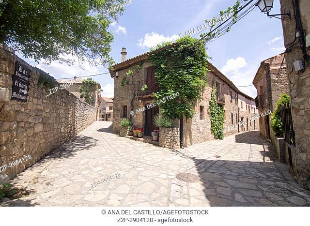 Medinaceli village in Castile Leon Spain