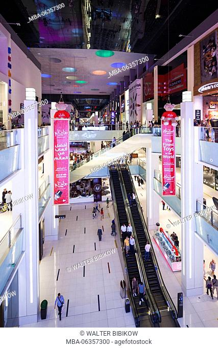 UAE, Dubai, Downtown Dubai, Dubai Mall, interior