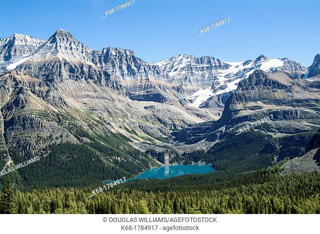 Lake O'Hara in Yoho National Park in British Columbia, Canada