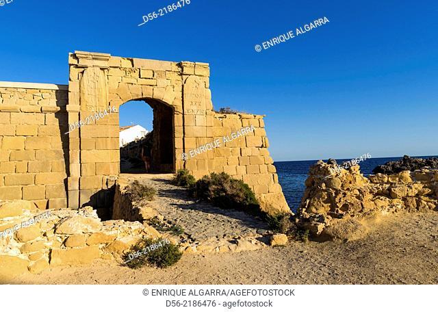 Tabarca Island, Alicante province, Spain