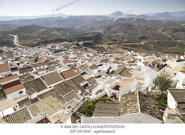 Olvera is one of the most beautiful villages in Spain, Andalusia, Spain