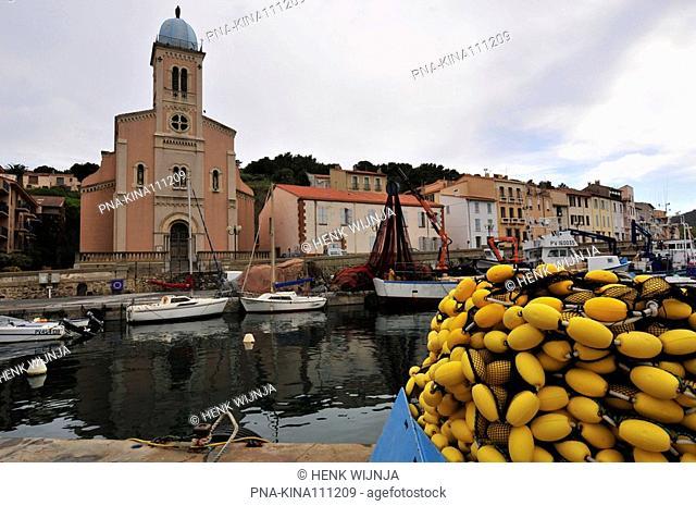 Port Vendres, Pyrénées-Orientales. Pyrenees, Languedoc-Roussillon, France, Europe