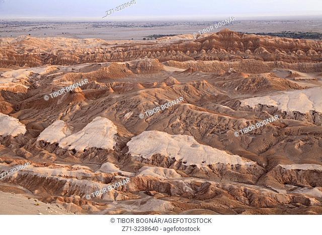 Chile, Antofagasta Region, Atacama Desert, Valle de la Luna,