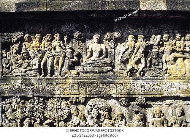 1st Gallery north upper 95. Borobudur, Indonesia
