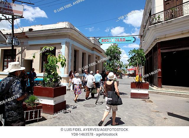 Boulevard de Villa Clara, Santa Clara, Cuba