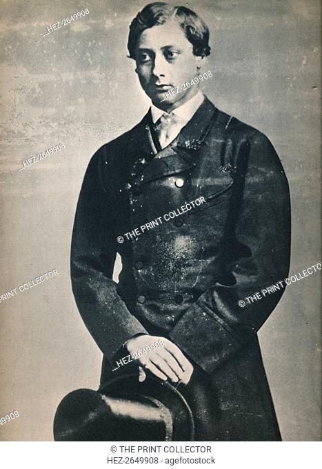 'Edward VII as Prince of Wales, New York,1860', 1860, (1939). Artist: Mathew Brady