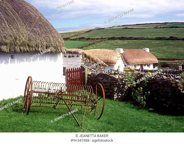 Isle of Man - The National Folk Museum at Cregneash
