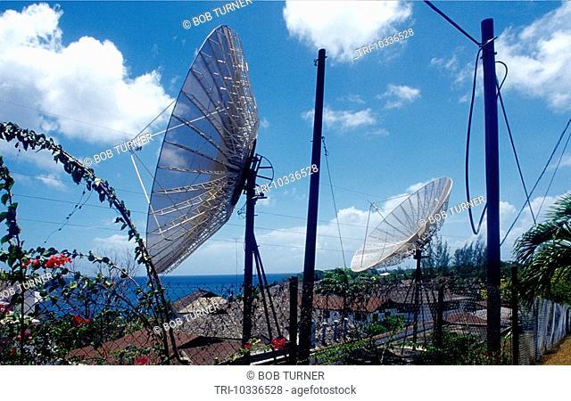 Grafton Tobago Satellite Dishes