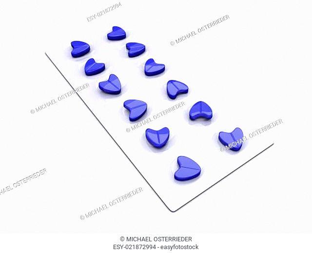 Blue Love Pills