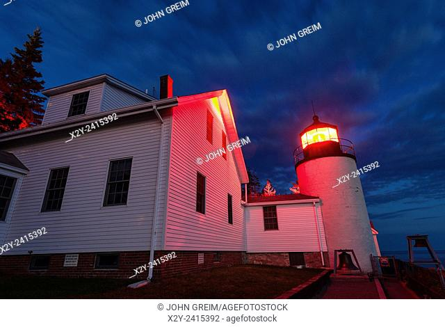 Bass Harbor Light, Bass Harbor, Acadia National Park, Maine, USA