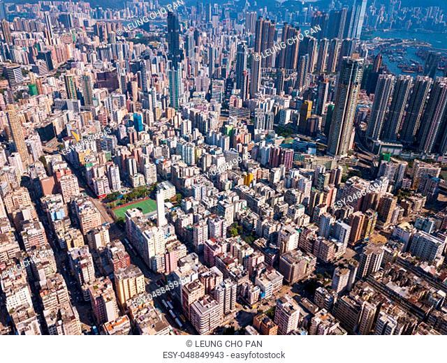 Kowloon city, Hong Kong 25 May 2018:- Hong Kong city