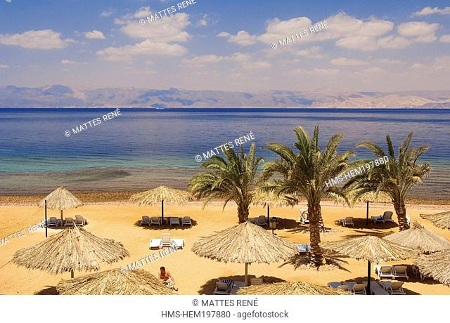 Jordan, Al Aqaba Governorate, Al Aqaba City, beach