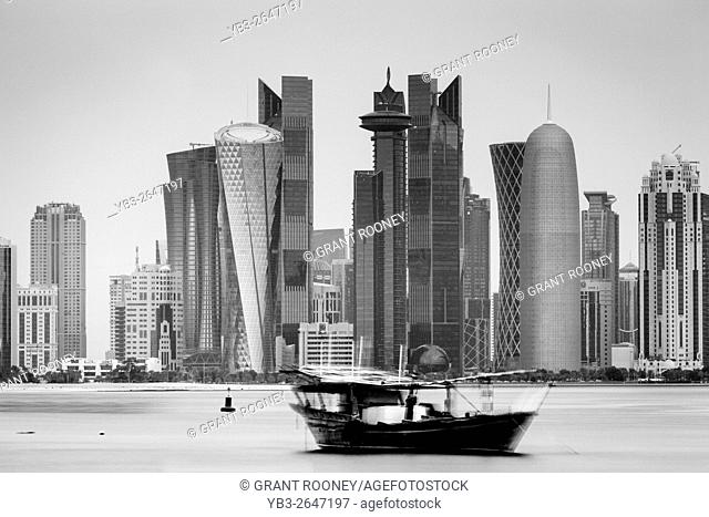 Doha Skyscrapers, Doha, Qatar