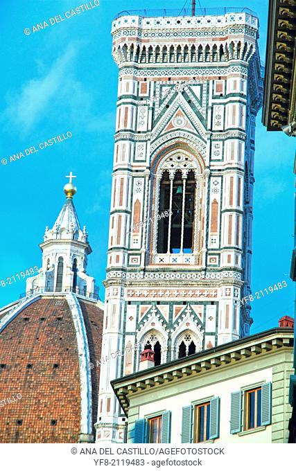 Cathedral, The Basilica di Santa Maria del Fiore in Florence, Italy