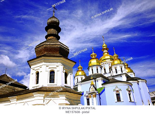 St. Michael Cathedral and the Refectory of St. John the Divine, Kiev, Ukraine