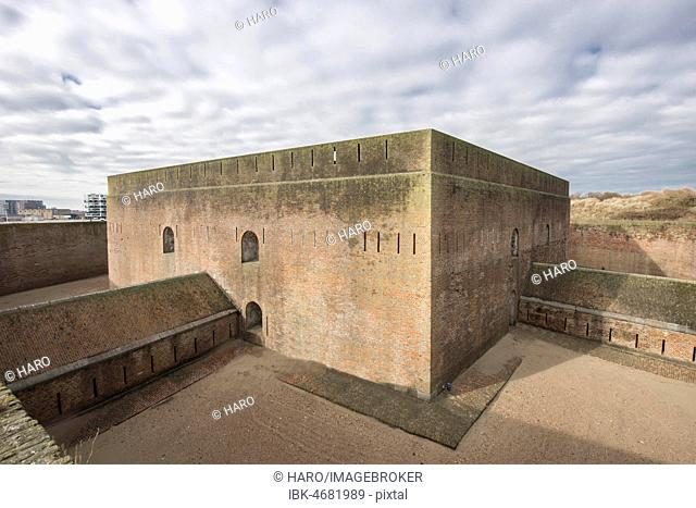 Fort Napoleon, military fortress, today museum, Ostend, West Flanders, Belgium