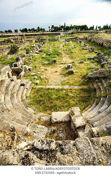 Hierapolis Basilica. Ancient Greece. Asia Minor. Turkey