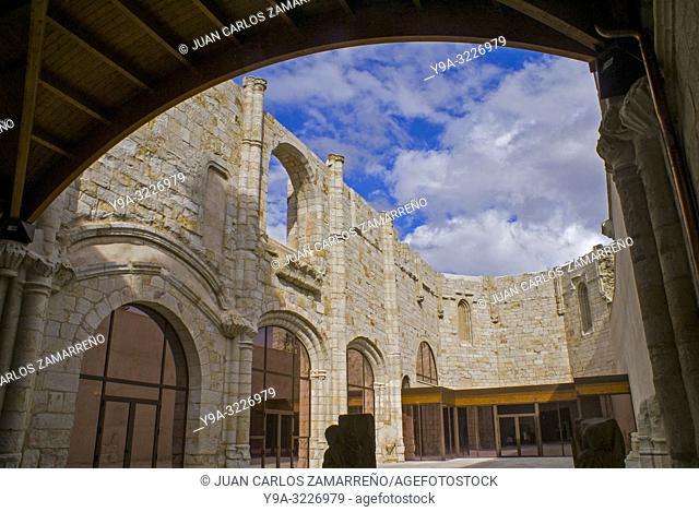 Jeronimos Monastery, Padre Belda Museum, Ancient Cultures, Alba de Tormes, Salamanca, Castilla y Leon. Spain