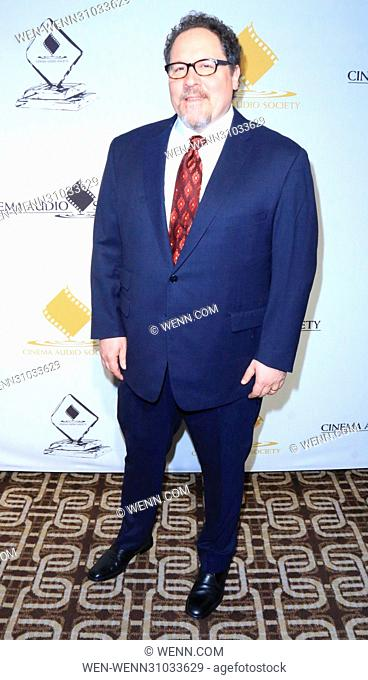 53rd Annual Cinema Audio Society (CAS) Awards at Omni Los Angeles Hotel at California Plaza - Arrivals Featuring: Jon Favreau Where: Los Angeles, California