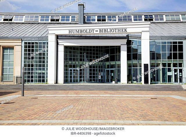 Humboldt Bibliothek Library, Tegel, Berlin, Germany