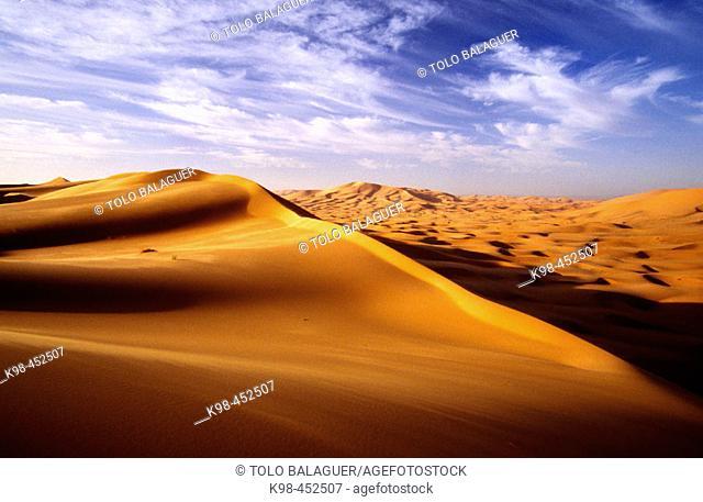 Erg Chebbi. Merzouga. Tafilalet. Morocco