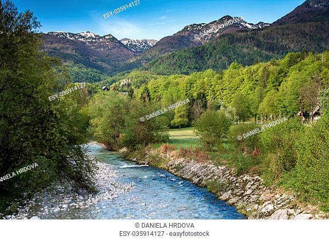 Bohinj lake, Slovenia, Europe