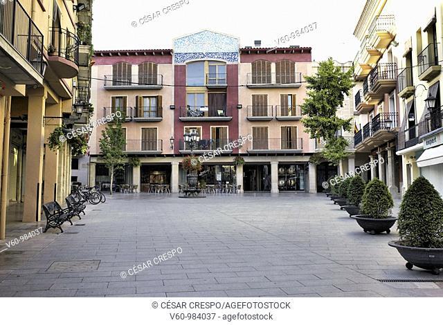 -'Spain Square' in Cambrils- Tarragona(Spain)