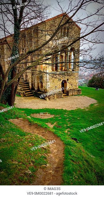 Santa María del Naranco, Oviedo, Asturias, España