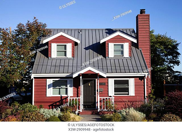Private traditional house, Port Townsend, State of Washington, USA, America