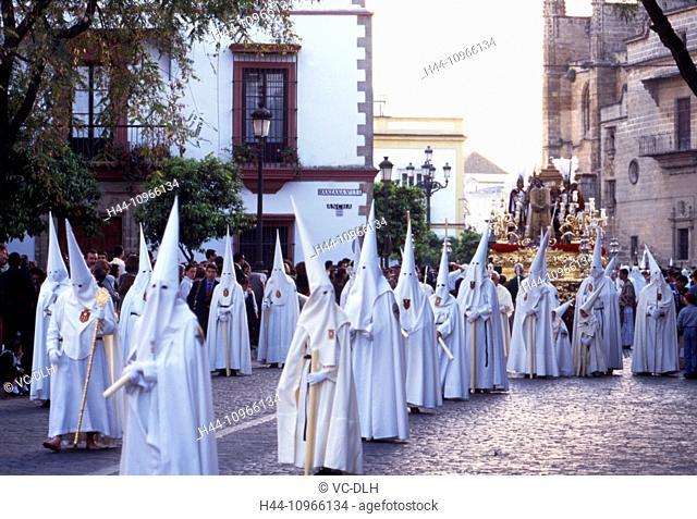 holy week, celebration, Jerez, Andalusia, Spain