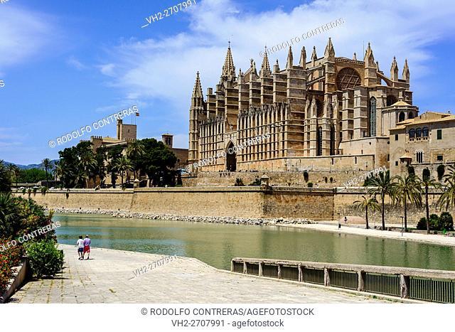 Cathedral in Palma, Majorca
