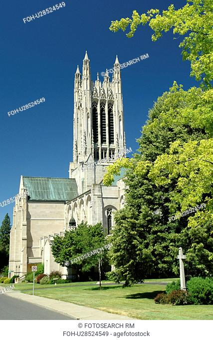 Spokane, WA, Washington, downtown, Cathedral of St. John the Evangelist