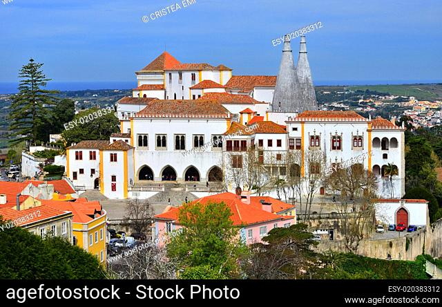 Sintra National Palace (Town Palace), Portugal