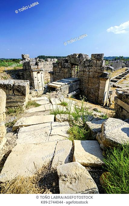 Perge Nymphaeum. Old capital of Pamphylia Secunda. Ancient Greece. Asia Minor. Turkey