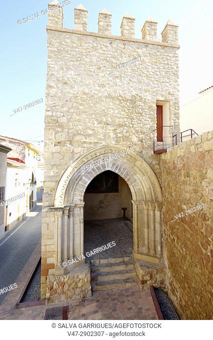 Porch of San Antonio and the walls, Lorca, Murcia, Spain