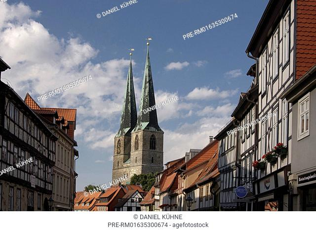 Quedlinburg, Harz District, Harz, Saxony-Anhalt, Germany / Quedlinburg, Landkreis Harz, Harz, Sachsen-Anhalt, Deutschland